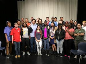 KDOL Students with Mayor Schaaf